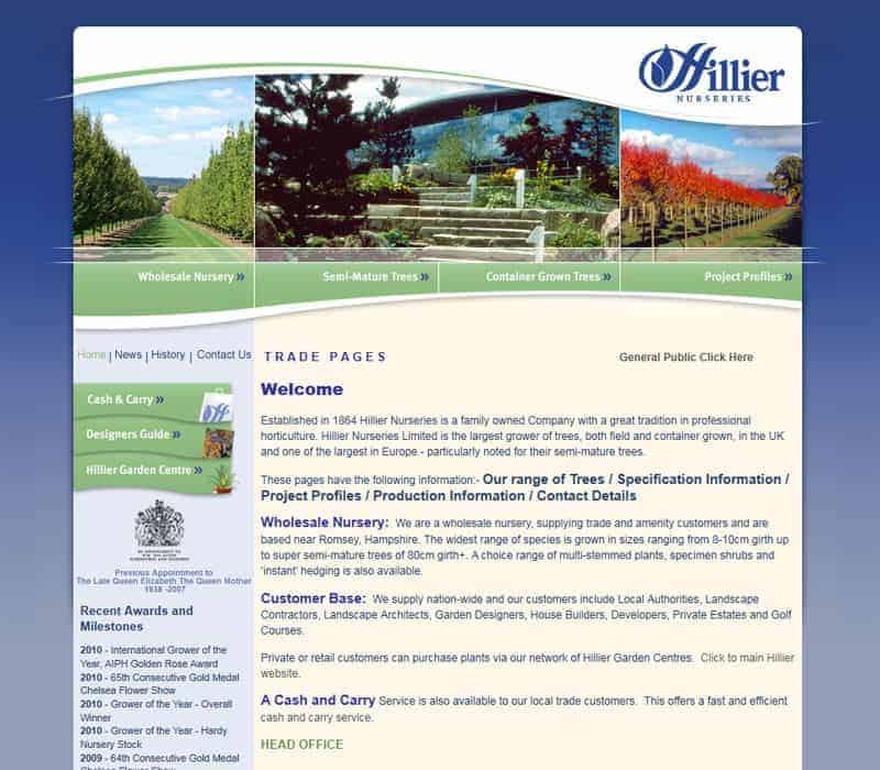 hillier-nurseries