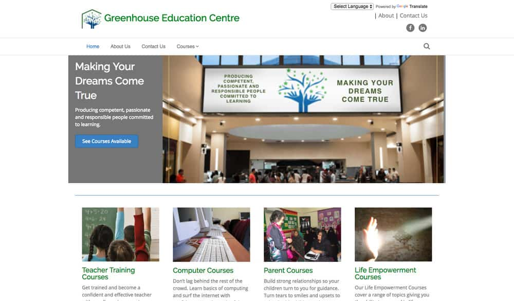 Greenhouse Education Centre