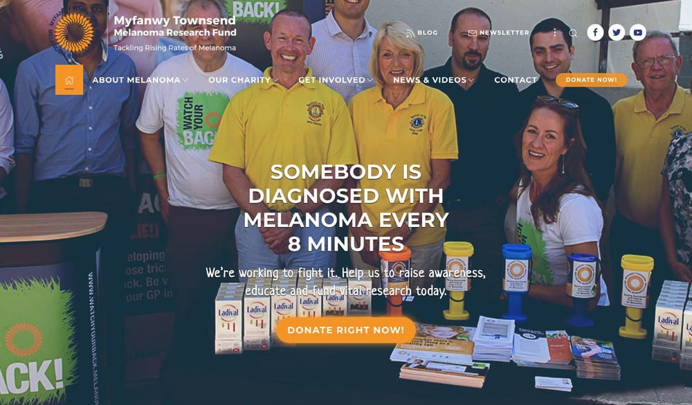 Melanoma Fund screenshot